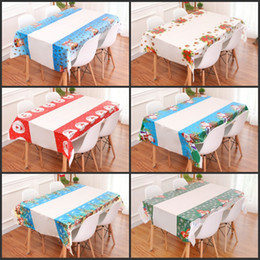 $enCountryForm.capitalKeyWord NZ - Disposable Christmas Tablecloth Hotel Home Party Supplies Decoration Waterproof PVC Plastic Rectangle Table Cloth Hot Sale 2 5yw hh