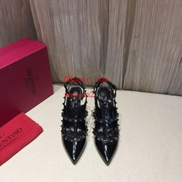 Discount stylish lady shoes heel - New ladies black high heels, stylish atmosphere design style, bring you the noble temperament shoes woman