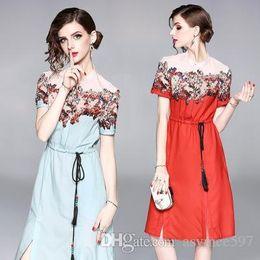 $enCountryForm.capitalKeyWord Australia - Stand Collar,Short Sleeve Summer Dresses of Women,Lady Sexy Split Dress,Beauty Waist Sashes Colour Beading Deco