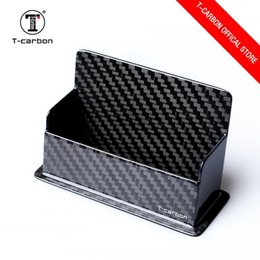 carbon card holder UK - T -Carbon Carbon Fiber Business Card Holder