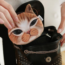 $enCountryForm.capitalKeyWord Australia - New Cute Cat Face Printed Zipper Coin Purses For Kids Cartoon Wallet Bag Coin Pouch Children Purse Holder Women Wallets