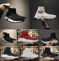 Sock bandS online shopping - Socks shoes Mens and Womens Zoom Slip on Speed Trainer Low Mercurial XI Black High Fashion help designer Sneakers boots Casual Shoes