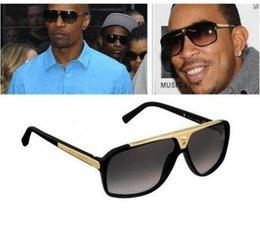 Moda Homens Mulheres Marca Óculos De Sol Evidence Óculos De Sol Designer Polido Preto Armação Óculos Óculos De Seda De Luxo Óculos De Sol Retro Óculos De Sol em Promoção