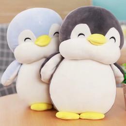 $enCountryForm.capitalKeyWord NZ - Soft fat Penguin Plush Toys Stuffed Cartoon Animal Doll Fashion Toy for Kids Baby Lovely Girls Christmas Birthday Gift Wholesale