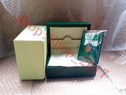 $enCountryForm.capitalKeyWord Australia - free shipping Luxury New Style Brand Green Watch Original Wood Box Papers Gift Watches Boxes Leather bag Card For Rolex Box 116600 Watch Box
