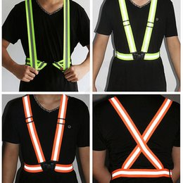 $enCountryForm.capitalKeyWord NZ - Visibility Reflective Vest 6 Colors Night Warning Safety Outdoor Waistcoat Cycling Sports vest Contruction Tops Home Clothing 100pcs T1I1571