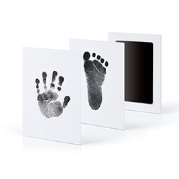 $enCountryForm.capitalKeyWord UK - A Newborn Baby Handprint Inkless Touch Non-Toxic Inkpad DIY Photo Frame Infant Hand and Footprint Souvenirs
