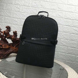 denim leather backpack fashion Australia - 2020 fashion men's backpack waxed leather material zipper pull large capacity men's mountaineering bag travel bag can put the computer