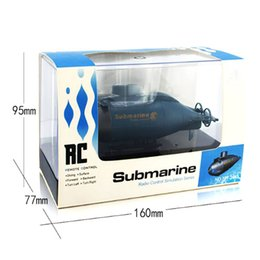 wireless engine NZ - New Remote Control Boats Mini wireless remote control submarine 40MHz Remote Control Electric Toy Kid Fun Gift Toys