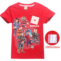 Girl Games Babies Australia - Roblox Game T-shirts Boys Girl Clothing Kids Summer 3D Funny Print Tshirts Costume Children Short Sleeve Clothes For Baby