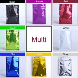 Bags Foods Australia - 7cmx10cm Color aluminum foil packaging Zip lock sealed bag gift bag food Snack sealed bag can be customized