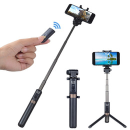 stick phone holder UK - APEXEL APL - D3 Selfie Stick Bluetooth Remote Control with Foldable Tripod Phone Holder