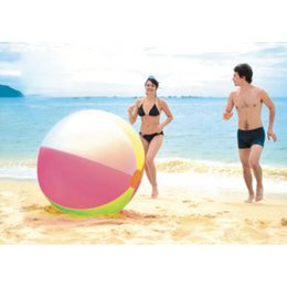 $enCountryForm.capitalKeyWord Australia - Super Big 80cm PVC Inflatable Ball Kid Child Air Beach Ball Swimming Pool Outdoor Giant Roll Ball Toy Sport Water Play B38002