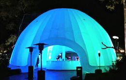 Venta al por mayor de Tienda inflable inflable Igloo tienda de la bóveda Publicidad evento de promoción de exposiciones Decoración