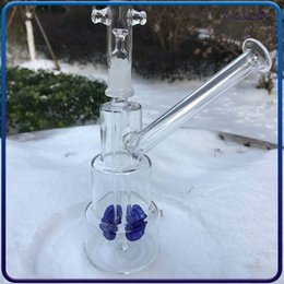 $enCountryForm.capitalKeyWord Australia - Unique Hitman Glass Bongs Classic Brilliance Cake Dab Rigs Thick Birdcage Recycler wax Oil Rig Water Pipes with 14mm joint free shipping