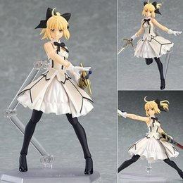 $enCountryForm.capitalKeyWord NZ - NEW hot 15cm fate stay night fate stay night saber lily action figure toys Christmas gift toy with box
