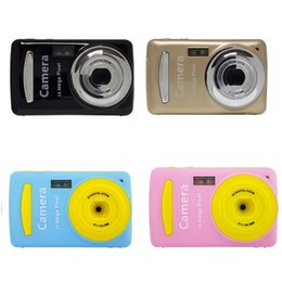 $enCountryForm.capitalKeyWord Australia - 2.4 Inch Mini Digital Camera 16MP Video Camcorder Multi colored Children Camera 720P HD Mini Video Camera Best Gift For child