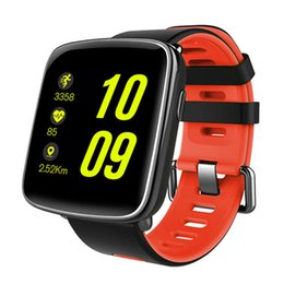 Chinese  TOP sport watch IP68 waterproof fitness watch for men luxury Heart rate Bluetooth Two-color silicone strap digital smart manufacturers