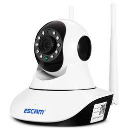$enCountryForm.capitalKeyWord Australia - ESCAM 720P P2P WiFi IP Camera Night Vision   Pan Tilt Function P2P technology, plug and play, convenient to use