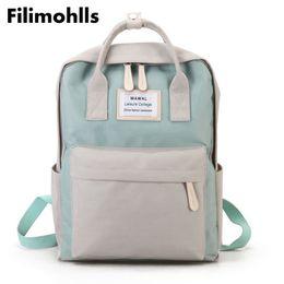 Cute Backpacks For Teenage Girls Australia - School bags for teenage girls Cute Canvas fashion Backpack female backpack design for girls leisure travel school luggage F-93 Y18110202