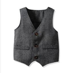 776d6bb7ded6b Boys european suits online shopping - Baby Boy Clothes Boy s Formal Suit  Vest Spring Button