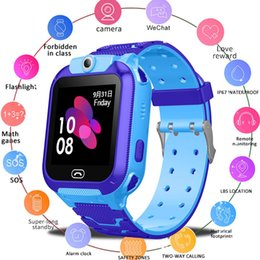 Smart watch SoS online shopping - Original Smart Watch LBS Kid SmartWatches Baby Watch For Children SOS Call Location Finder Locator Tracker Anti Lost Monitor Box