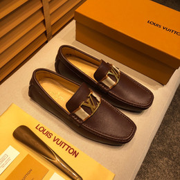 Men Chains New Models Australia - Mix 24 models Italian NEW Men's Dress Shoes Luxury Mens Leather Casual Driving Oxfords Shoes Mens Loafers Moccasins Italian Shoes for Men