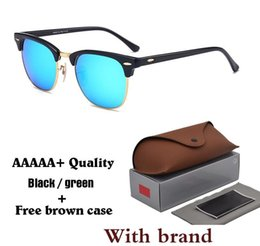 Glasses Sun Protection Australia - quality Glass Lens Designer Fashion Men and Women Sunglasses UV400 Protection Sport Vintage Sun glasses With Brown box