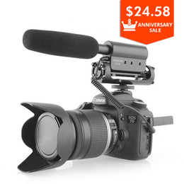 takstar mic Australia - Takstar SGC-598 Photography Interview Shotgun MIC Microphone for Nikon Canon DSLR Camera DV Camcorder for Vloggers Videomaker
