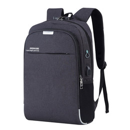 $enCountryForm.capitalKeyWord UK - Backpack Laptop Backpack Usb Charging Backbag Travel Daypacks Male School Bookbag Leisure Backpack Anti Theft Mochila