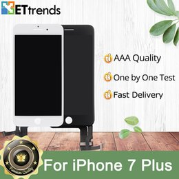 Iphone Screen Testing NZ - Quality AAA LCD Display for iPhone 7 Plus LCD Screen Digitizer & Touch Glass Screen Full Assembly test one by one DHL Free Shipping