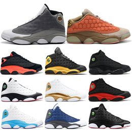 official photos 476ab a3b3c 2019 Basketball Shoes 13s Mens Atmosphere Grey Clot Melo Class of 2002 He  Got Game Black Cat Playoff Flint DMP Sports Sneakers 7-13