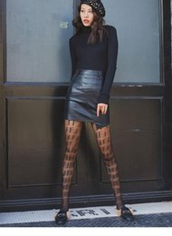$enCountryForm.capitalKeyWord Australia - women Tights Black F letters logo Pantyhose sexy thin jacquard romper silk stockings female summer sexy socks lace socks