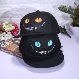 $enCountryForm.capitalKeyWord NZ - Xuyijun Alice Wonderland Cheshire Cat Hat Street Dance Snapback Men And Women Baseball Cap Black Adjustable 11 5wz C1
