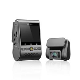 Dvr Channel Cameras Australia - VIOFO A129 Duo Double Channel 5GHz Wi-Fi Full HD Dash Camera DashCam Sensor IMX291 Dual 1080P Car DVR Optional GPS