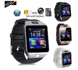 Smart watcheS dhl online shopping - DZ09 Smartwatch Android GT08 U8 A1 Smart Watch Wristband SIM Intelligent Mobile Phone Watch Can Record Sleep State DHL