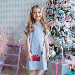 8fe2bebdf5a Toddler Girls Summer Dresses Unicorn Appliqued Kids Flowers Party Dress for Kids  Girl Short Sleeve Princess Dress Baby Girl Designer Clothes