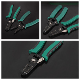 $enCountryForm.capitalKeyWord Australia - Multifunctional Cable Wire Stripper Stripping Cutter Cutting Pliers Hand Tools For Cutting Electric Wire 6'' 7'' K5606