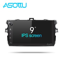 Discount stereo navigation car toyota corolla - Asottu CLKLL9060 android 8.1 T8 car dvd gps navigation for Toyota corolla 2007 2008 2009 2010 2011 radio stereo
