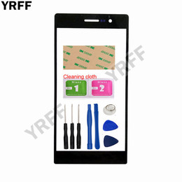 $enCountryForm.capitalKeyWord NZ - YRFF 5.0'' Mobile Touch Screen Outer Glass For HuaWei Ascend P7 Front Glass Panel Replacement