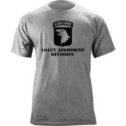 US Army 101ª Divisão Aerotransportada Veterano Subjugado T-Shirt Legal Engraçado Camiseta Verão Em Linha Reta 100% Algodão venda por atacado