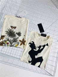 Double Shirt Designs Australia - 19ss new Italian fashion brand design double-sided printing T-shirt men and women fashion street windbreaker sweatshirt outdoor T-shirt