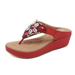 750d04eca3a1e Cloth Shoes Slippers UK - new High quality sandals sweet diamond women s  slippers sandals wedge shoes