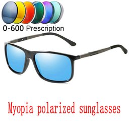 40ed064f0a 2019 NEW Custom Made Myopia Minus Prescription Polarized Lens Summer Style  New Outdoor Sports Colorful Polarized Sunglasses FML