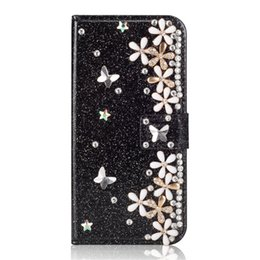 $enCountryForm.capitalKeyWord UK - Lucky flowers PU leather wallet phone covers for samsung s10 case ,diamond bling phone case for samsung galaxy s10 mobile covers
