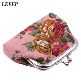 flower clutch coin purse NZ - 2019 New Fashion Embroidery Coin Purse Women Retro Mini Small Wallet Vintage Flower Clutch Bag Personality Coin Purses Holders