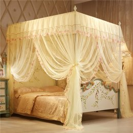$enCountryForm.capitalKeyWord Australia - 36 150*200 cm Mosquito Net Elegant Lace Polyester Insect Bed Canopy Netting Curtain Round Dome Mosquito Net Bedding