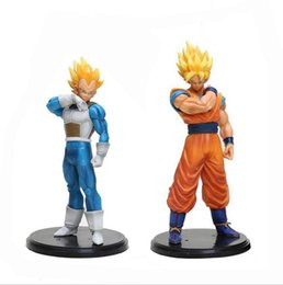$enCountryForm.capitalKeyWord Australia - 2 Style PVC Dragon Ball Action Figures Sun Wukong Vegeta Action Figures Doll top quality for kids best gifts