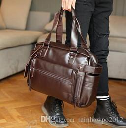 $enCountryForm.capitalKeyWord Australia - brand men bags fashionable leisure men leather shoulder BaoHu large mens leather bag outside tide joker brand men single shoulder bag
