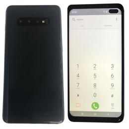 Goophone S10 Plus 6.5 Inch HD S10 + Goophone مع Face ID WCDMA 3G Quad Core Ram 1GB ROM 8GB Android 9.0 Camera 8.0MP Show 5G 8GB 512GB